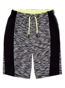 Black Active Shorts (3-14 years)
