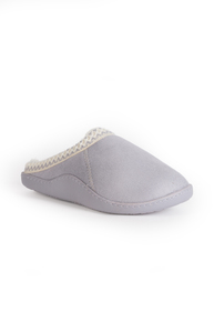 Lilac Memory Foam Mule Slippers