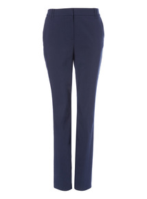Navy Bootcut Trousers