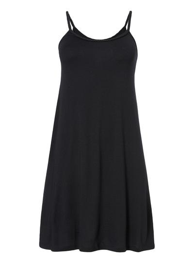 Black Plait Dress