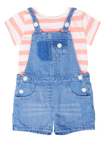 Tee And Dungarees Set (9 months - 6 years)