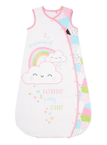 Multicoloured Dreamer Sleeping Bag (0-24 months)