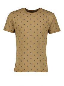 Khaki Cactus Print T-Shirt