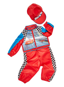 Red Disney Cars Racing Driver Costume (1 - 6 years)