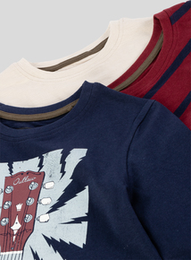 Multicoloured Road Trip Long Sleeve T-shirts (3-14 years)