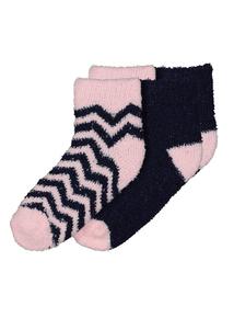 Multicoloured Sparkle Cosy Socks 2 Pack