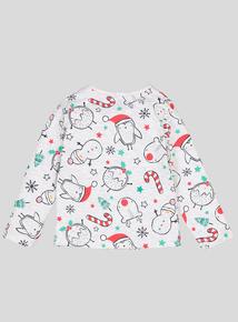 Christmas Robin Top (0-24 Months)