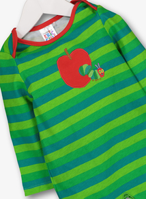 The Very Hungry Caterpillar Sleepsuit   Hat Set (0-24 Months) 4c4500f662a3