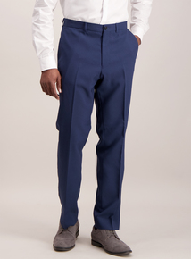 Online Exclusive Navy Tailored Fit Smart Trousers