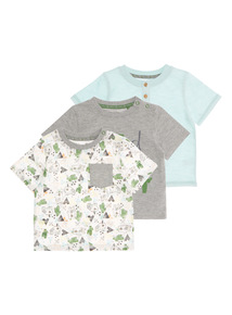 Wild And Crazy Tees 3 Pack (0 - 24 months)