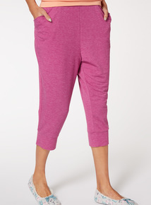 Marl Cropped Bottoms