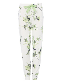 Floral Cuffed Pyjama Bottoms
