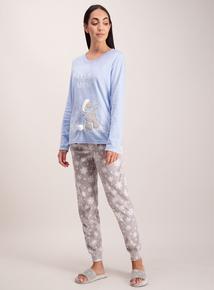 Blue 'Me To You' Tatty Teddy' Pyjamas
