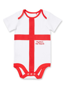 White Football World Cup Bodysuit (Newborn - 24 months)