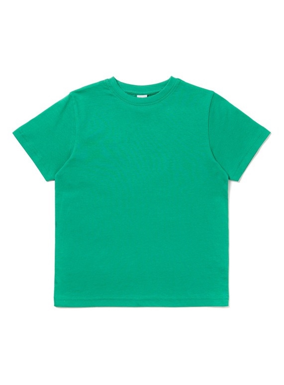 9c312d10bbd Kids Green Crew Neck T-Shirt (3-12 years)