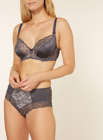 2 Pack Lucia Lace Non-Padded Full Cup Bra