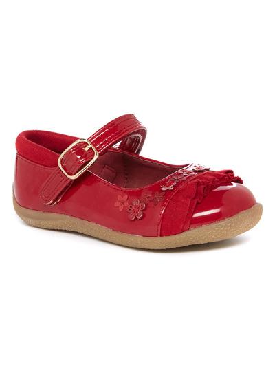 Fringed Patent Bumper Shoe (4 Infant - 12 Infant)