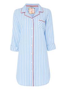 Blue Stripe Nightshirt