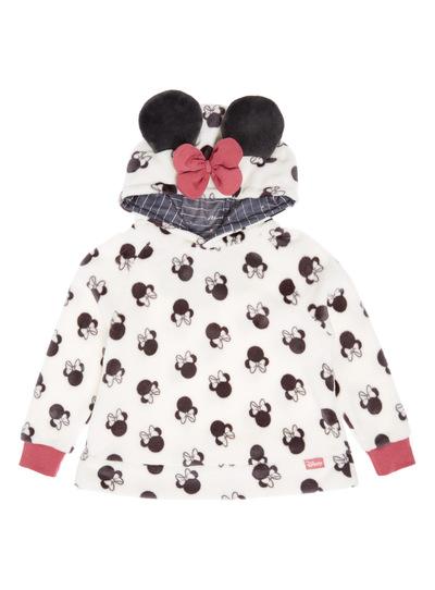 White Disney Minnie Mouse Fleece Jumper (18 months-12 years)