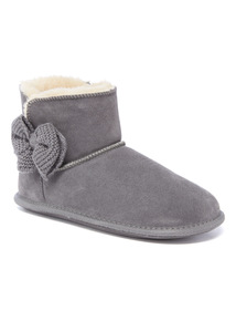 Suede Slipper Boot