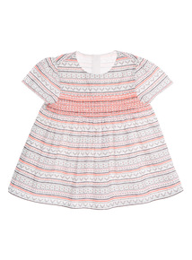 Multicoloured Embroidered Woven Top (0 - 24 months)