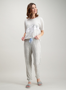 da9e4bd115 Disney 101 Dalmations Mother s Day Grey Pyjamas