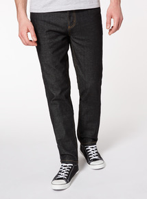 Denim Black Wash Slim Jeans