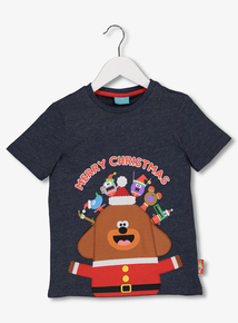 Hey Duggee Multicoloured Christmas T-Shirt (1-6 years)