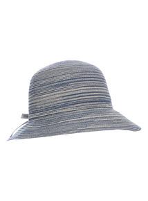 Blue Cloche Hat