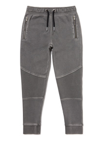 Grey Panelled Joggers (3-14 years)