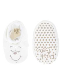 Boys Disney Winnie Slippers (0-12 months)