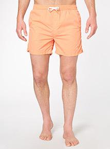 Orange Swim Shorts