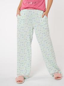 Star Print Pyjama Bottoms