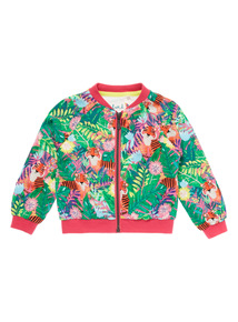 Multicoloured Tiger Bomber Jacket (9 months - 6 years)