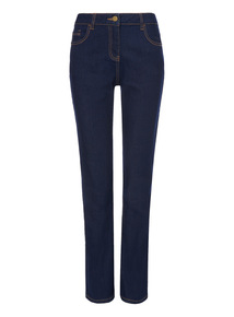 Dark Denim Straight Leg Jean