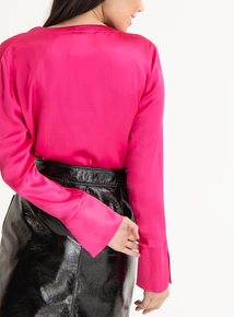 GFW Pink Button Down Blouse