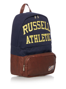 Online Exclusive Russell Athletic Navy Jersey Backpack