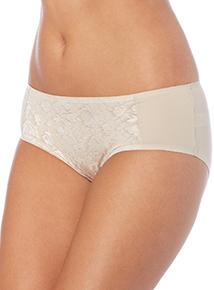 Nude Jacquard Shorts 2 Pack