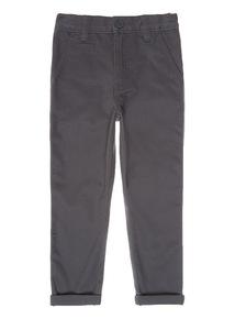 Grey Stretch Chinos (3-14 years)