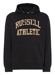 Russell Athletic Black Hoodie