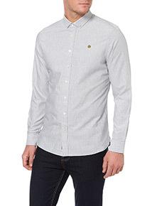 Admiral Grey Oxford Shirt