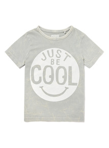 Light Green 'Just Be Cool' Print T-Shirt (9 months - 6 years)