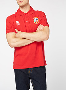 Online Exclusive Red British & Irish Lions Polo