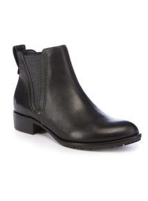 Sole Comfort Leather Chelsea Ankle Boot