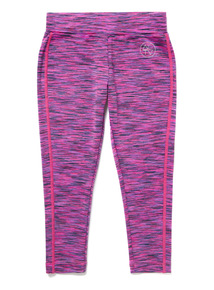 Pink Space Dye Dance Leggings (3-14 years)