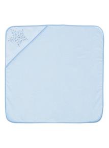 Boys Blue Hooded Towel