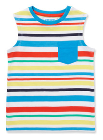 Multicoloured Striped Vest (9 months-6 years)