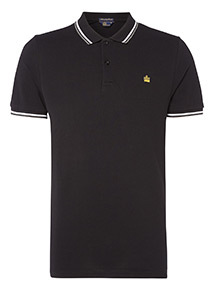 Admiral Black Polo Shirt