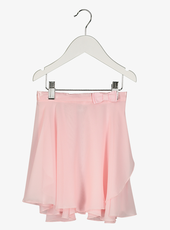 Pink Bow Detail Ballet Skirt (2-10 years)