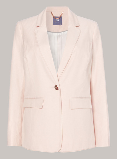 Premium Linen Tailored Jacket